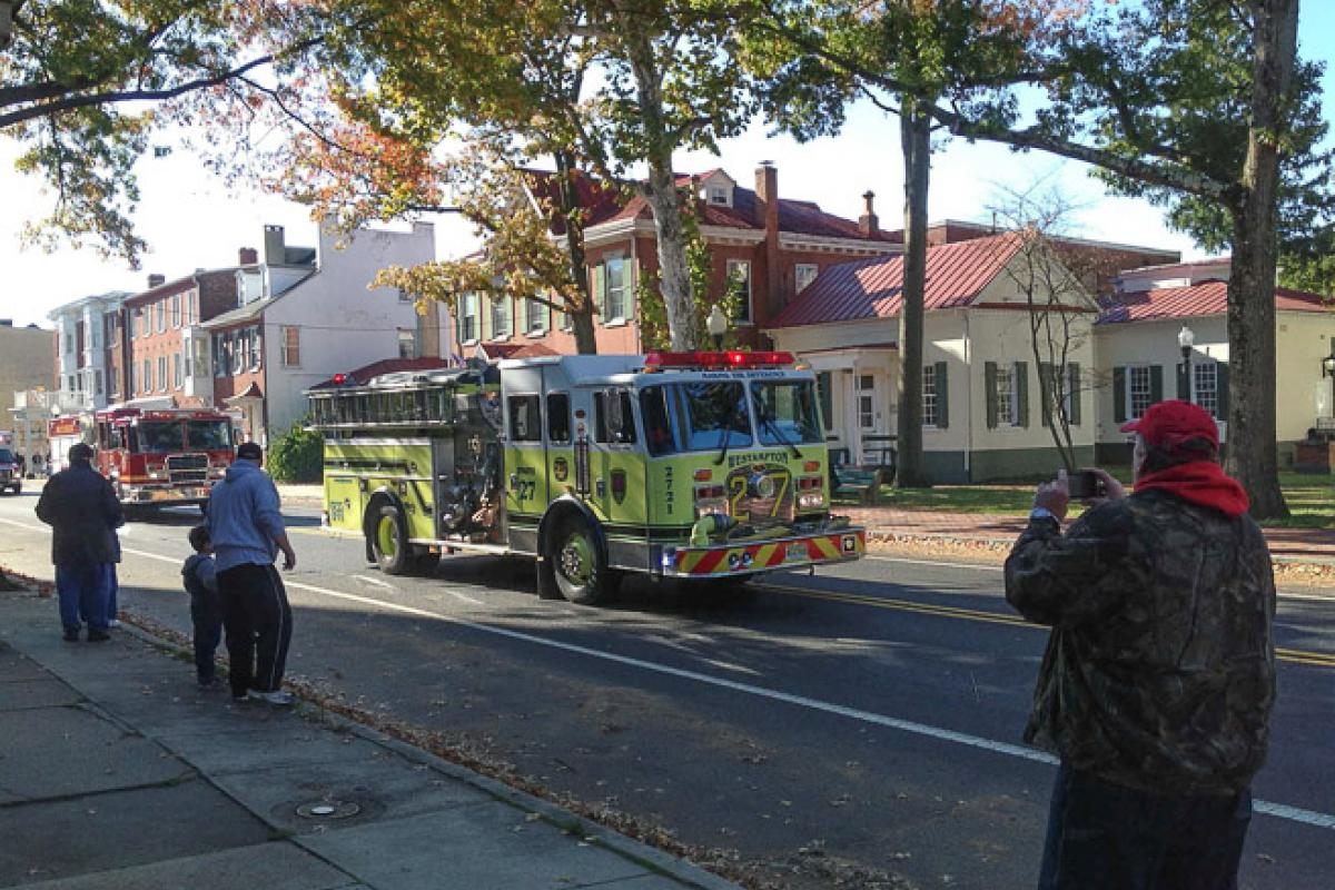 Homecoming Parade - Emergency Vehicles