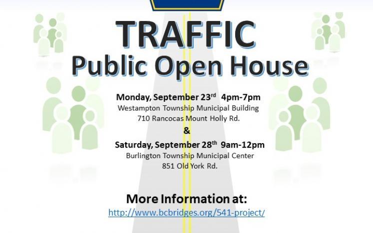 Burlington County Route 541 Traffic Study Public Open House
