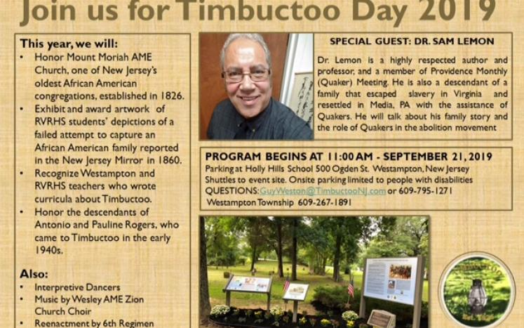Timbuctoo Day